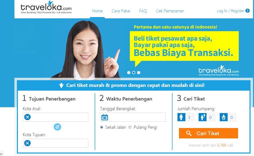 61 Traveloka Booking Tiket Pesawat