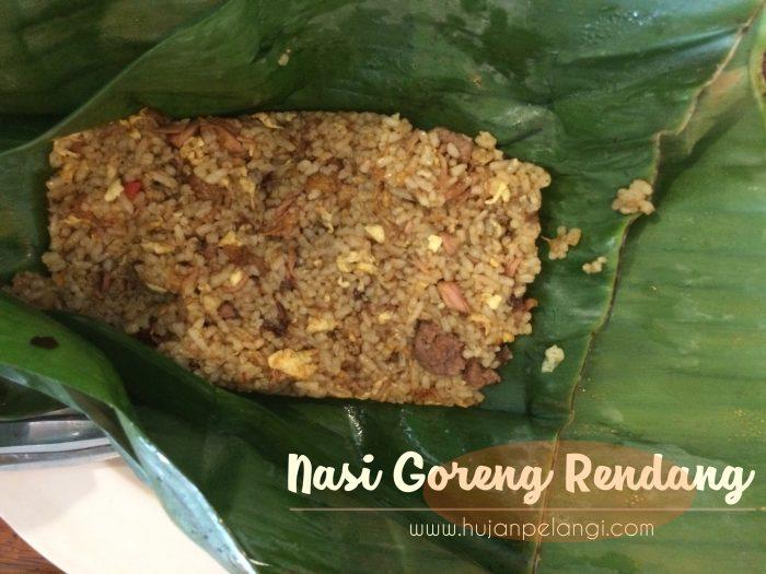 pesta buntel nasi goreng rendang