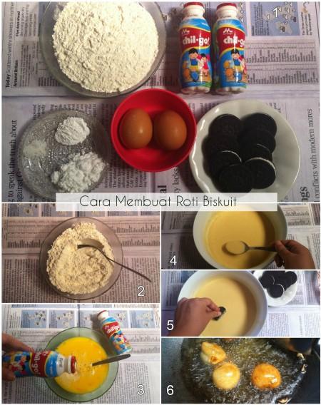 Cara Membuat Roti Biskuit