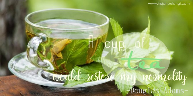 quote teh hijau
