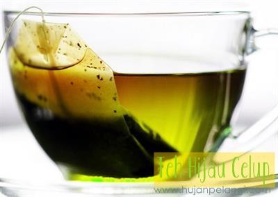 teh hijau celup
