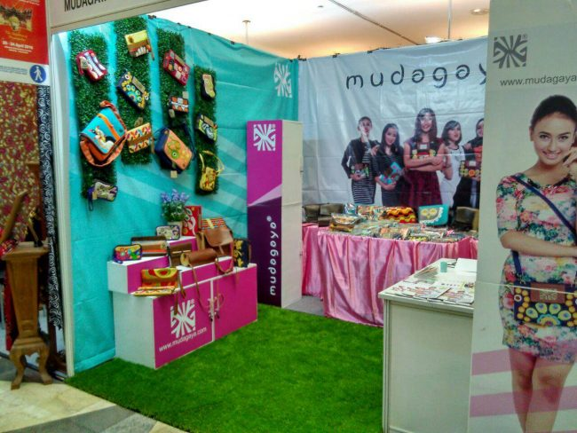 booth mudagaya di Inacraft 2016