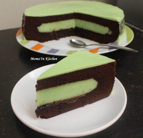 Brownies Mixed Pudding Green Tea
