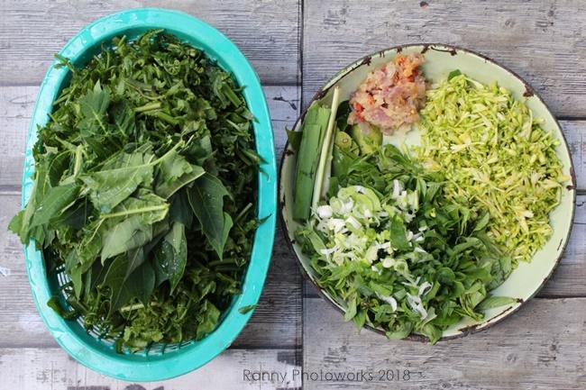 bahan resep sayur pakis
