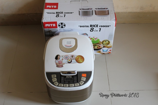 mito digital rice cooker