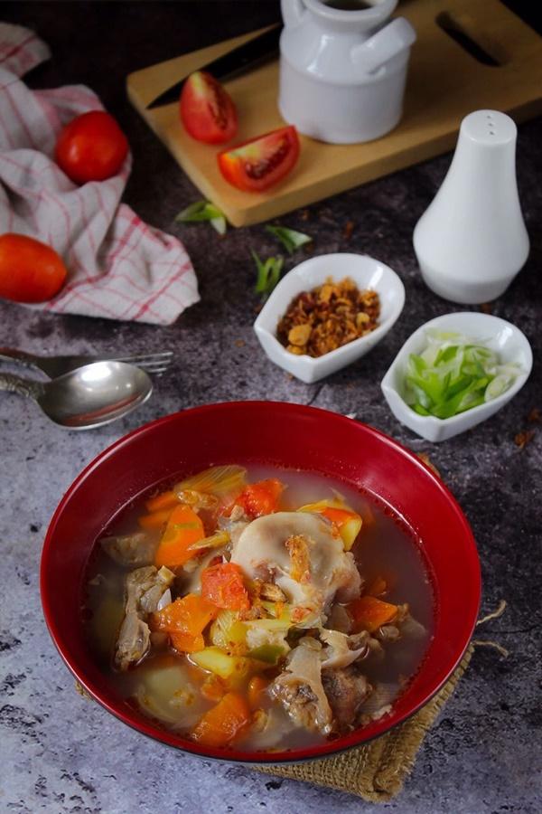 resep sup sengkel sapi3